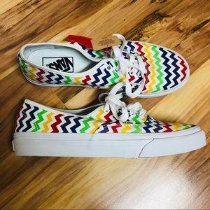 Vans rainbow chevron slim classics